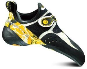 La Sportiva velcro climbing shoe