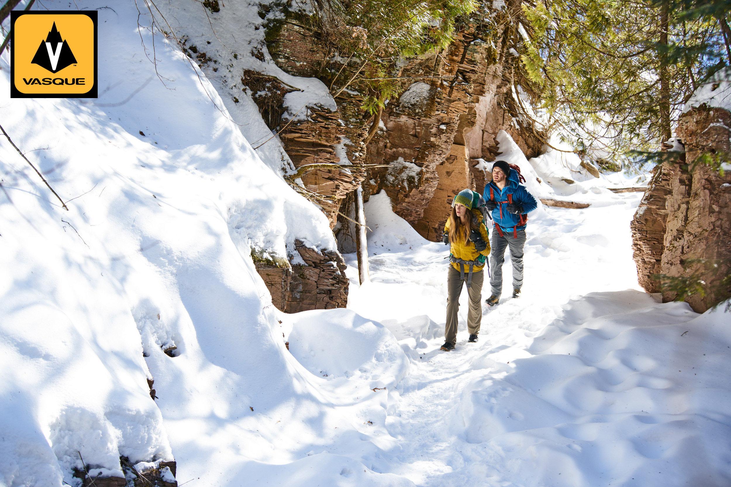 Vasque Presents Winter Hiking Tips