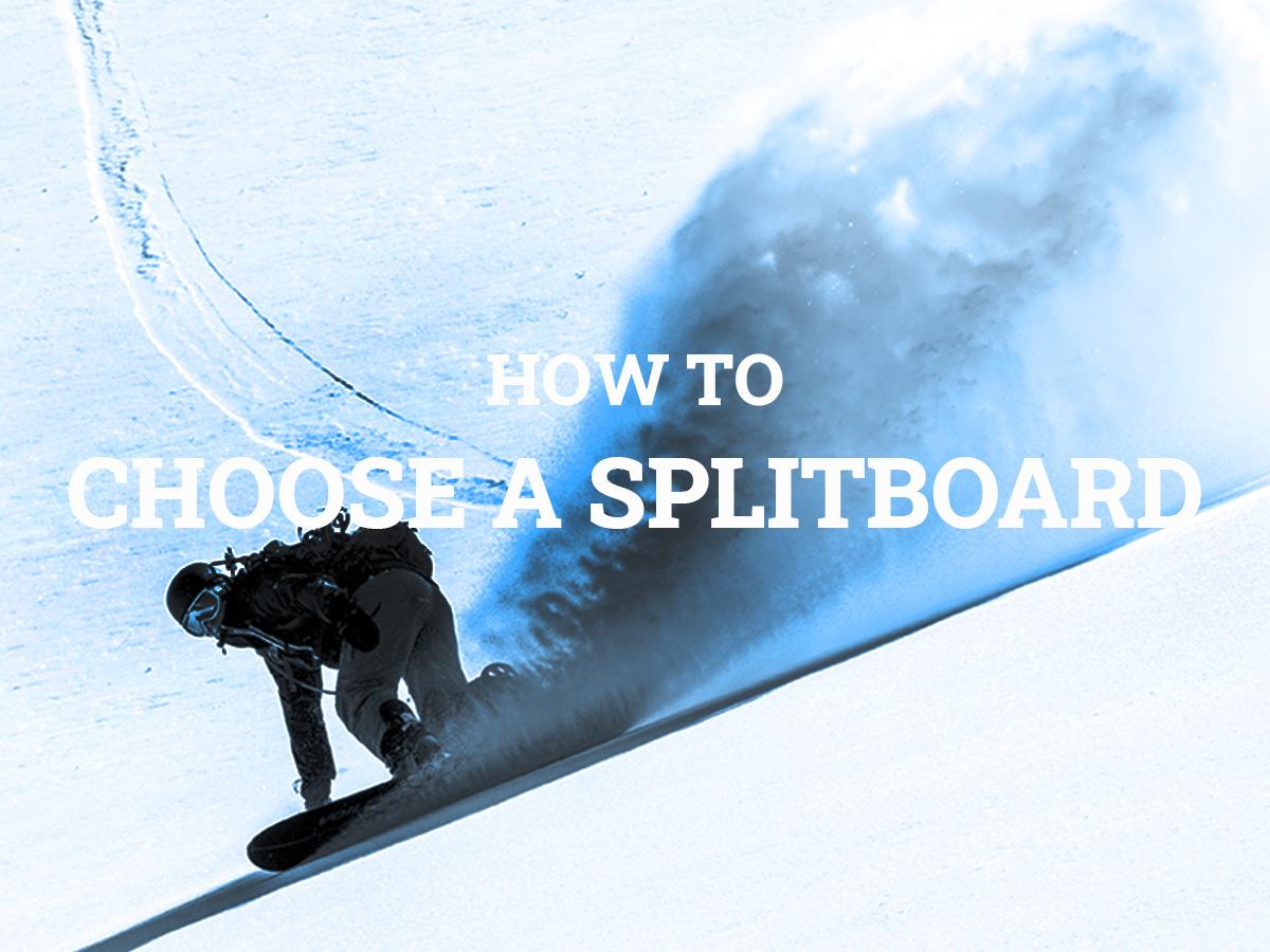 How to choose a splitboard | Outdoor Gear Exchange