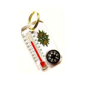Sun - Thermo-Comp Keychain Compass