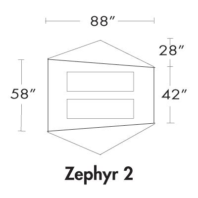 Zephyr 2P Floorplan