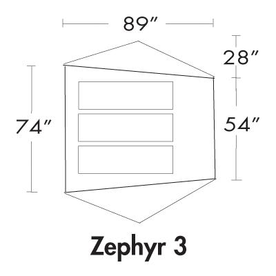 Zephyr 3P Floorplan