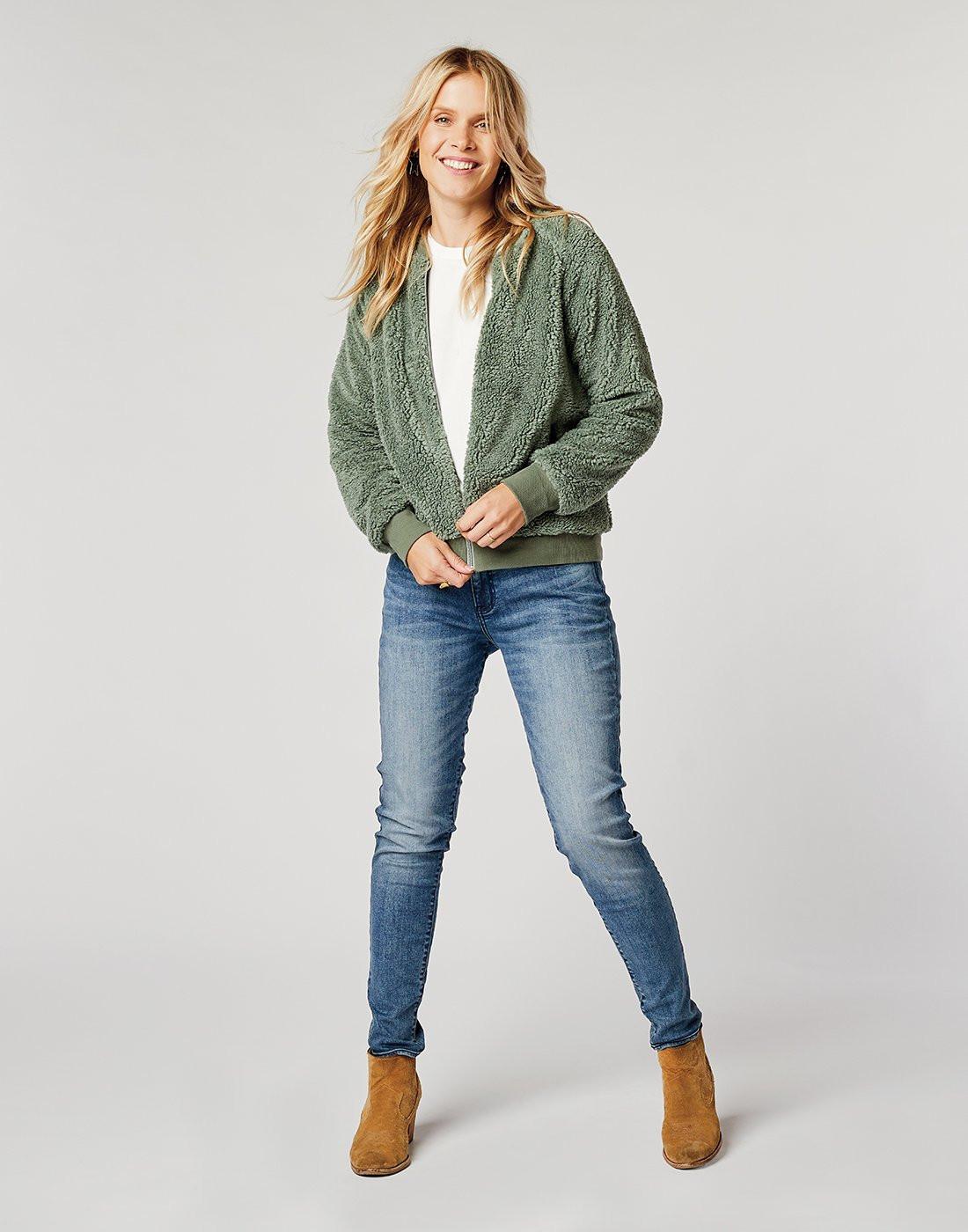 CARVE womens Haley Bomber Jacket