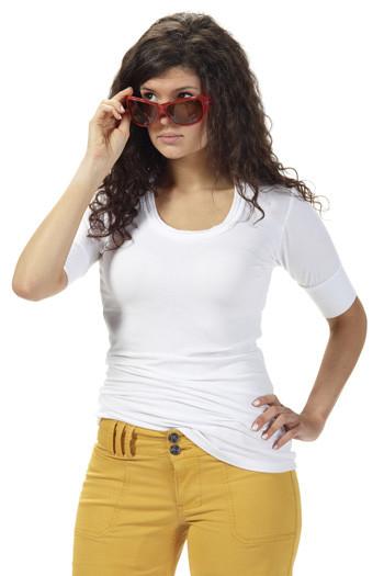Saria Shirt White