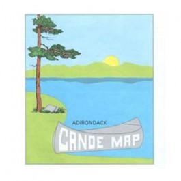 Adirondack Maps - Adirondack Canoe Map
