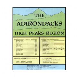 Adirondack Maps - High Peaks Region