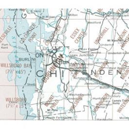 USGS - Burlington Map