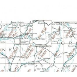 USGS - Jay Peak Map