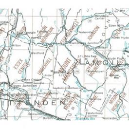 USGS - Mt Mansfield Map