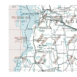 USGS - Mt. Philo Map