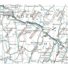 USGS - Waterbury Map