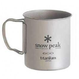 Snow Peak - Titanium Single Wall Cup 600