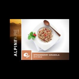 Alpine Aire - Strawberry Granola with Milk