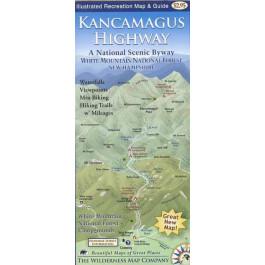 Wilderness Maps - Kancamagus Highway Map