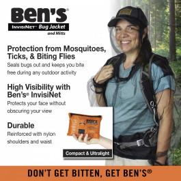 Ben's - Invisinet Bug Jacket & Mitts