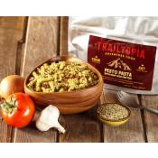 Trailtopia Food - Pesto Pasta with Hemp Seed Protein