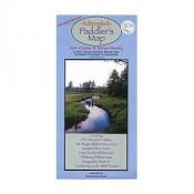 Paddlesports Press - Adirondack Paddlers Map