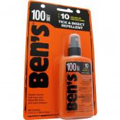 Ben's - 100 Tick and Insect Repellent 3.4oz Pump