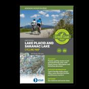 Green Goat Maps - Lake Placid & Saranac Lake Cycling Map