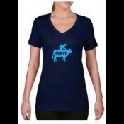MTBVT - Women's Cow Rider Tee