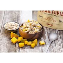 Trailtopia Food - Mango Oatmeal