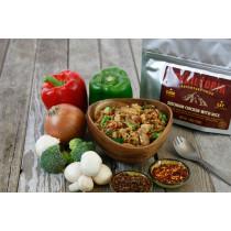 Trailtopia Food - Szechuan Chicken & Rice - Gluten Free