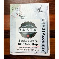 RASTA - Backcountry Ski/Ride Map