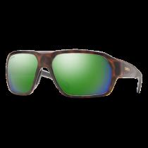 Matte Tortoise; ChromaPop Polarized Green Mirror