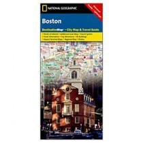 National Geographic - Boston Destination Map