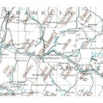 USGS - Jeffersonville Map
