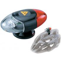 Topeak - Helmet Mount Rear/Front Light