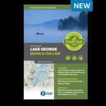 Green Goat Maps - Lake George Boating &Trails Map