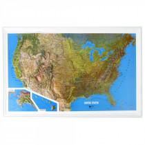 Hubbard Scientific - US Raised Relief Map