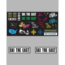 Ski The East - Sticker Sheet Pack