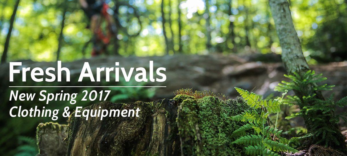 Fresh Arrivals for Spring 2017 | Outdoor Gear Exchange