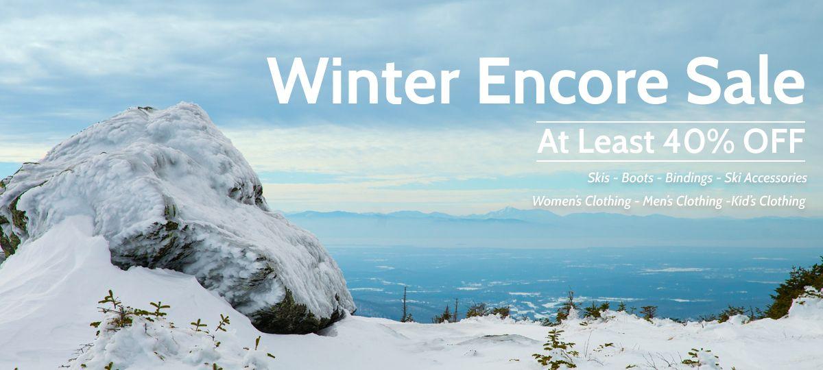 Shop the Winter Encore Sale | Outdoor Gear Exchange