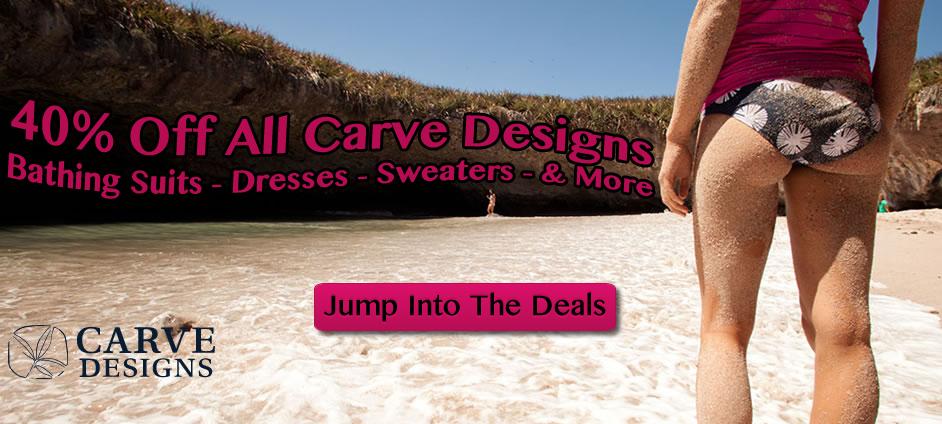 40% Off Carve Designs