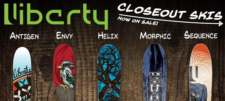 Liberty Ski Closeouts