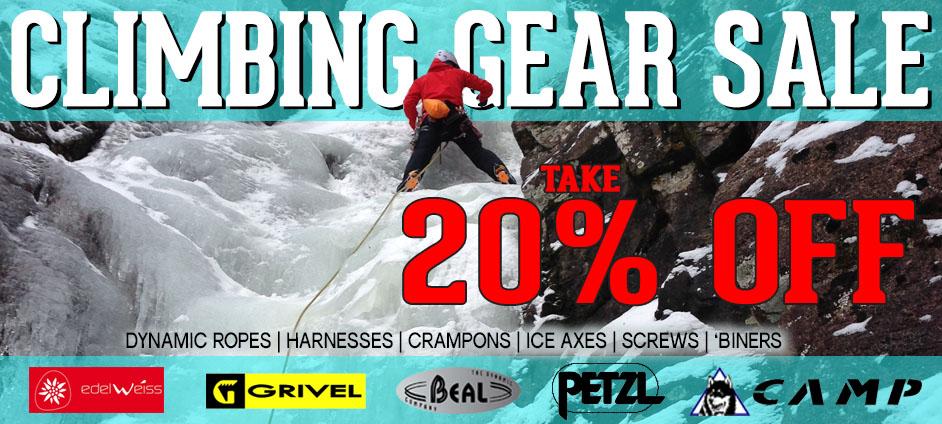 Climbing Gear Sale