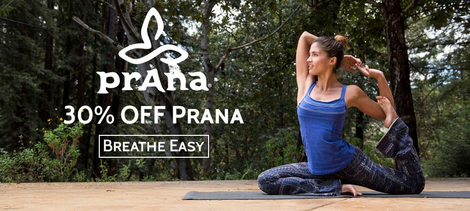 30% OFF Prana