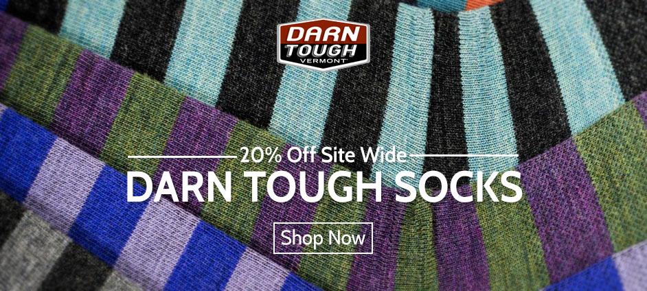 Darn Tough Socks - 20% OFF