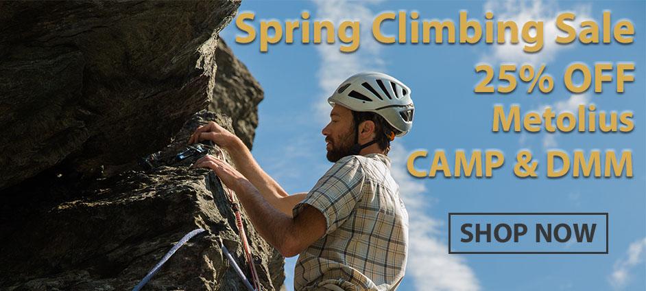 Spring Climbing Gear Blowout!!